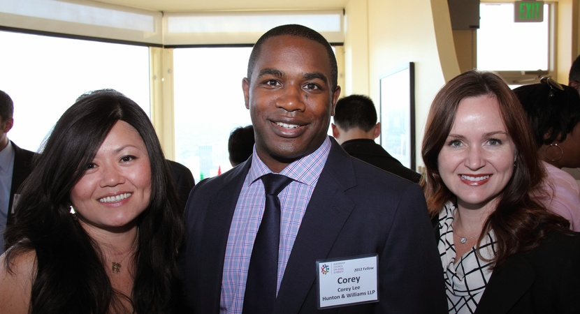 Lauren Lee (left), Corey Lee, and Christine Marlewski, all 2012 Fellows, at the LCLD Fellows Second Annual Alumni Conference in San Francisco, CA, May 2013. (Photo by Nabil Foster, 2012 Fellow)