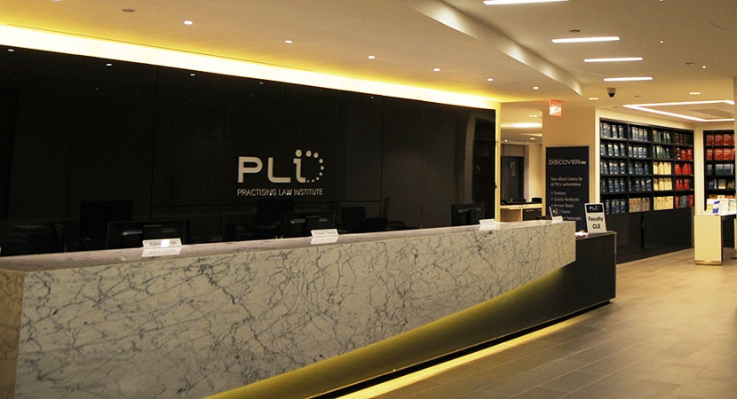 The Practising Law Institute (PLI) in New York, NY.