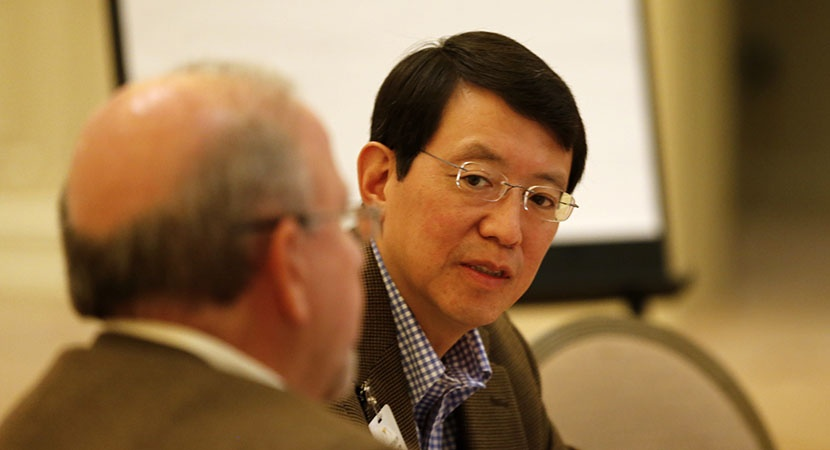 Ivan Fong at the LCLD Leadership Summit in May 2014. (Photo by Joe Mahoney)