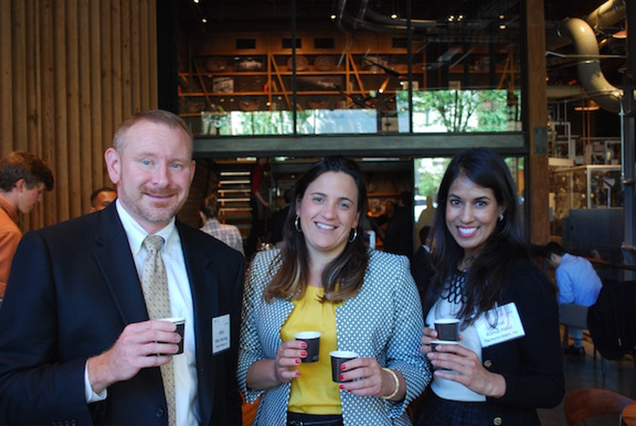 Fellows Experience Coffee And Community At Starbucks News Leadership Council On