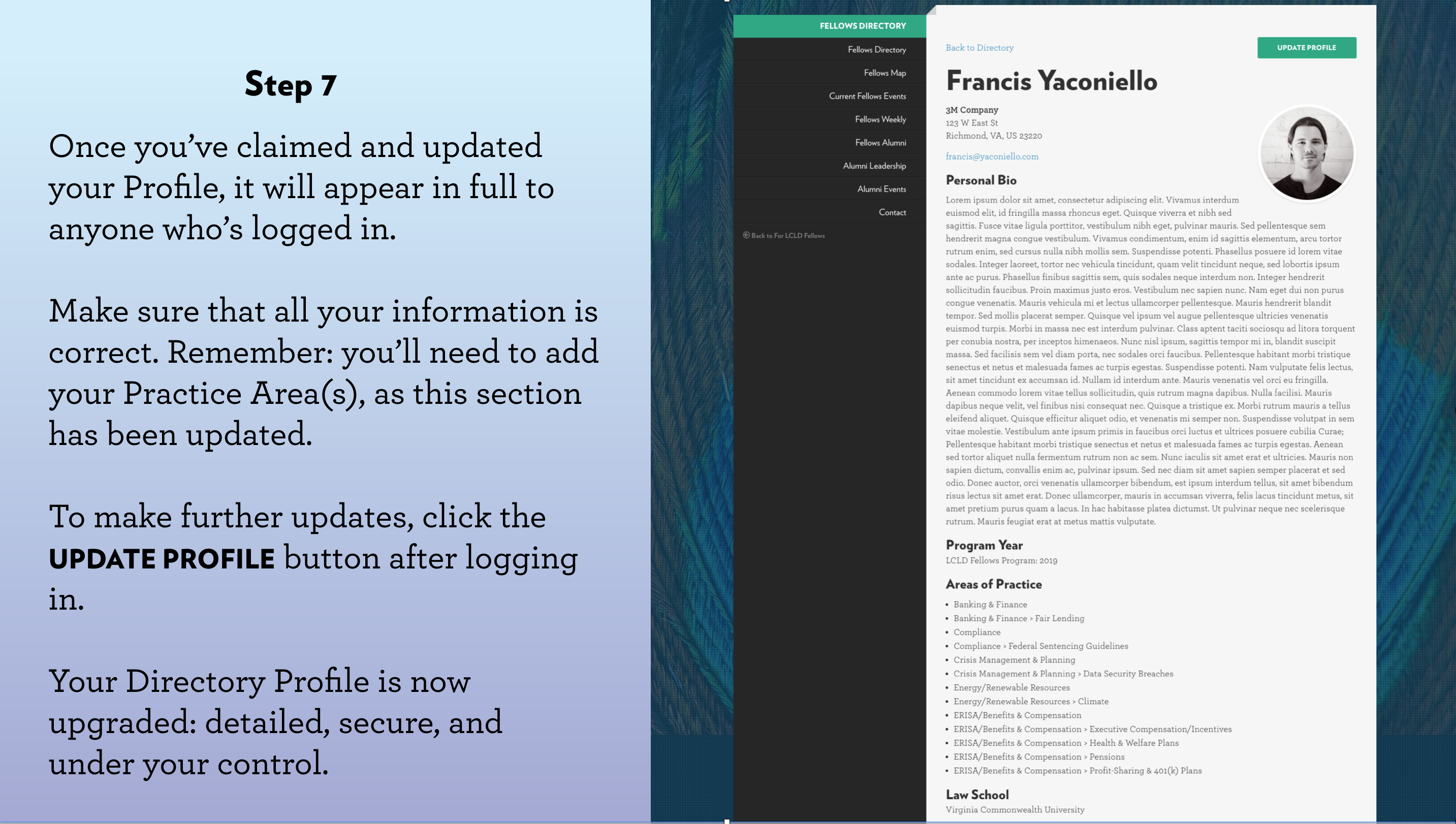 Introducing Upgraded Directories for Fellows and Pathfinders   News